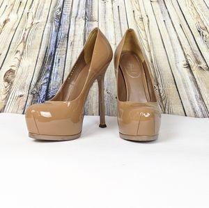 Nude YSL Tribtoo pumps / heels GORGEOUS !